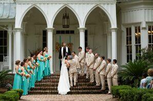 Bold Bari Jay High-Low Bridesmaid Dresses