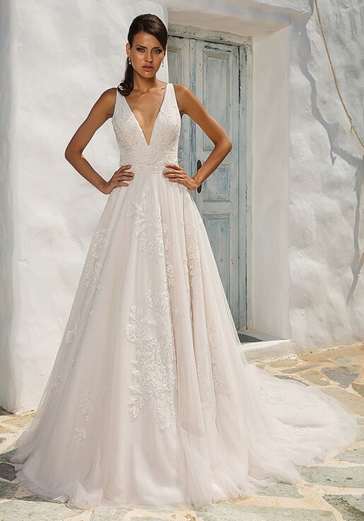Justin Alexander 8953 A Line Wedding Dress