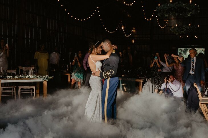 First Dance with Fog at Nostrano Vineyards in Milton, New York