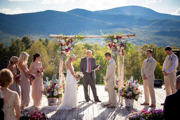 Mountainside Outdoor Ceremony