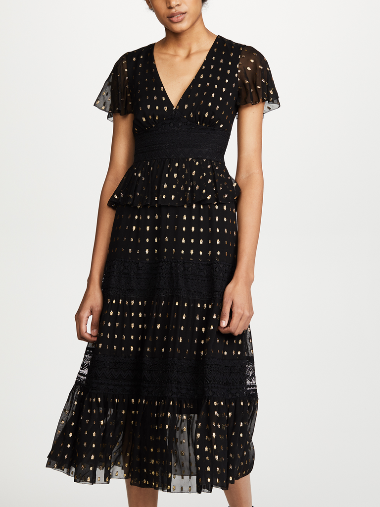 A Chic Feminine Dress Rendered In Lace Is The Perfect 13 Year Anniversary Gift For Fashion Lover