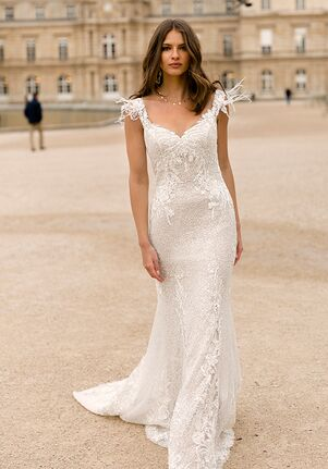 Madi Lane ML4819   Inara Sheath Wedding Dress