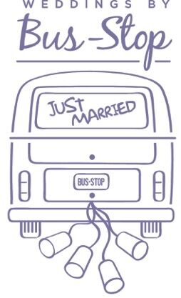 Bus stop wedding