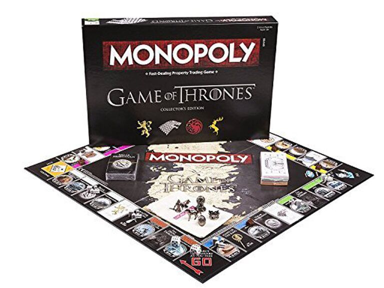 Game of Thrones Monopoly gift for best man