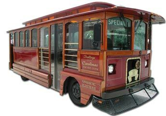 Trolleys Of The Carolinas