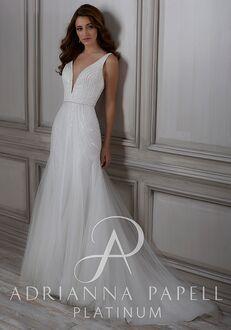 Adrianna Papell Platinum Frances A-Line Wedding Dress