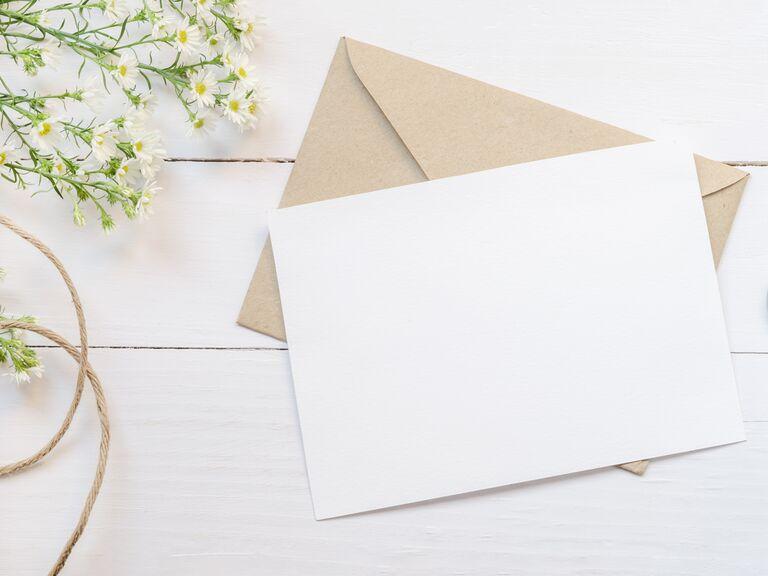 eco-friendly bridal shower invitations