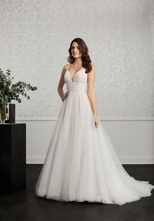 Adrianna Papell Platinum 31115 A-Line Wedding Dress