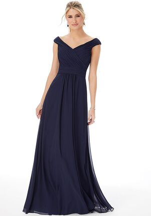 Morilee by Madeline Gardner Bridesmaids 1302 - Morilee by Madeline Gardner Bridesmaids Off the Shoulder Bridesmaid Dress