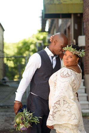 Simple, Bohemian Bridal Style