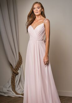 Belsoie Bridesmaids by Jasmine L204004 V-Neck Bridesmaid Dress