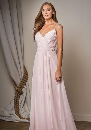 Belsoie Bridesmaids by Jasmine L204004 V-Neck Bridesmaid Dress