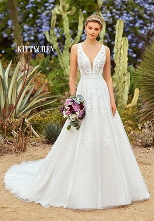 KITTYCHEN KENYA, H1931 A-Line Wedding Dress