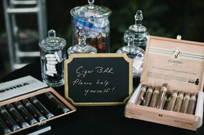 Chalkboard Cigar Sign