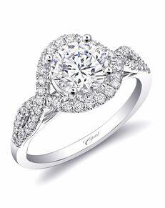 Coast Diamond Glamorous Cut Engagement Ring