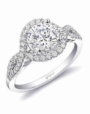 Coast Diamond Glamorous Cut Engagement Ring