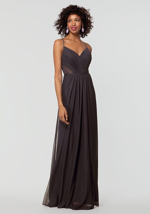 Kleinfeld Bridesmaid KL-200157 V-Neck Bridesmaid Dress