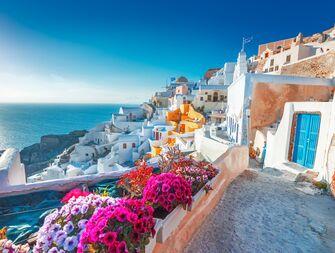 Greece honeymoon resort