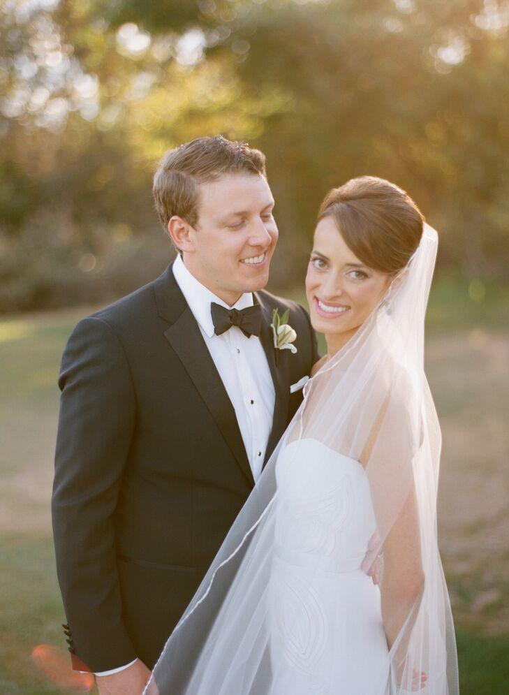 Jillian and Jason's wedding at the Shady Canyon Golf Club in Laguna Beach, California was an elegant, Tuscan-inspired affair. The couple opted for an
