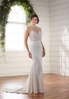 Essense of Australia D2215 Sheath Wedding Dress