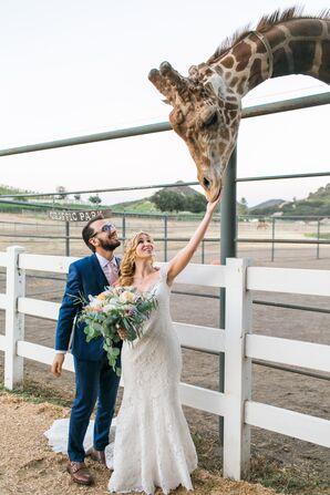 Postceremony Giraffe Park Visit