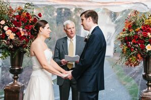 Intimate Linden Place Tented Ceremony