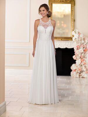 Stella York 6542 Sheath Wedding Dress