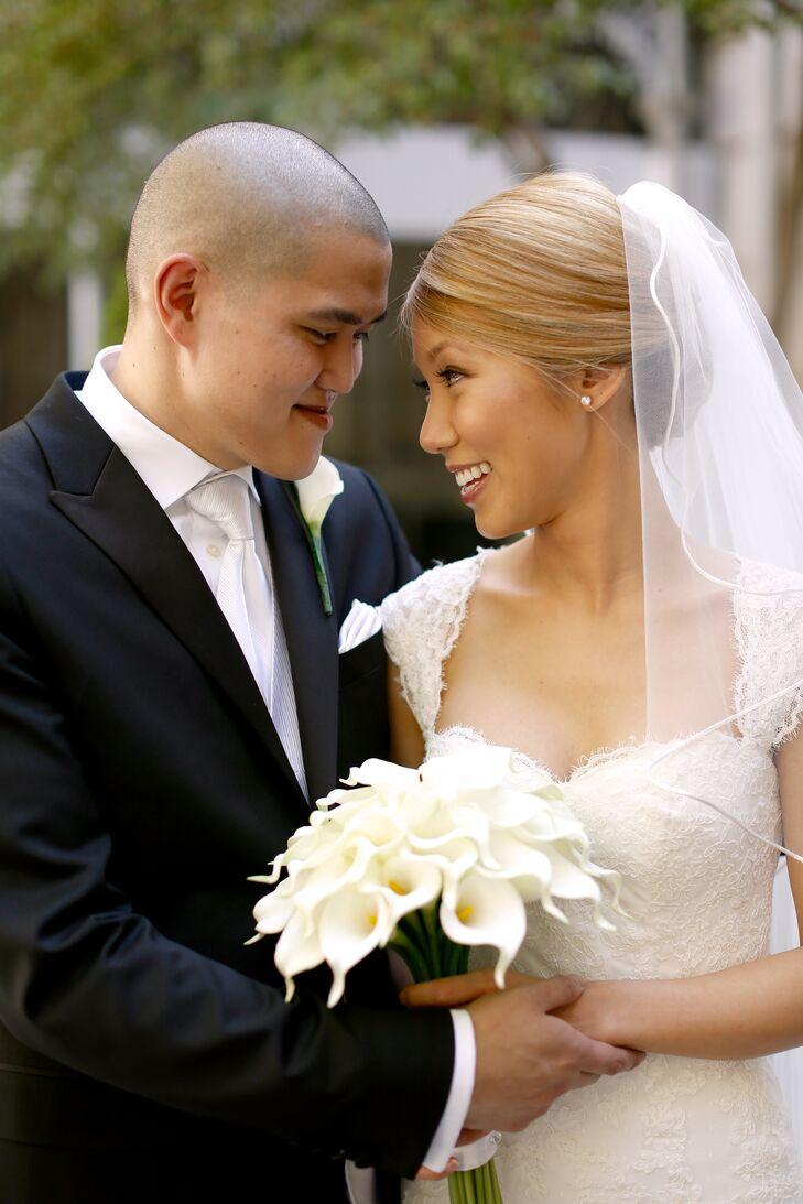 Elegant Organza Bridal Veil