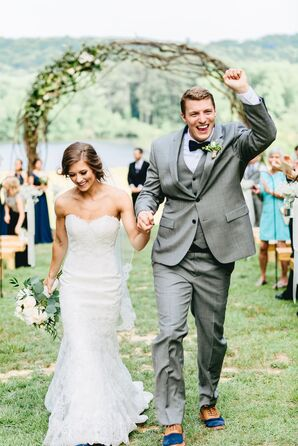Elegant Walters Farm Wedding Ceremony