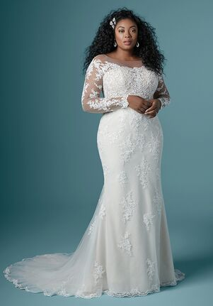 Maggie Sottero CHEVELLE LYNETTE Sheath Wedding Dress