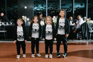 Nieces and Nephews in Personalized Shirts