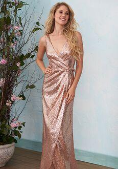 B2 Bridesmaids by Jasmine B203016 V-Neck Bridesmaid Dress