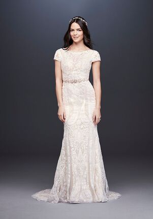 ce78e76dc Melissa Sweet for David's Bridal Melissa Sweet Style MS251194 Sheath Wedding  Dress