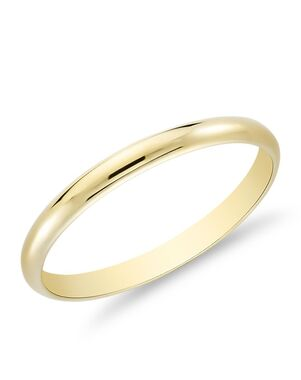 Blue Nile 33661 Gold Wedding Ring