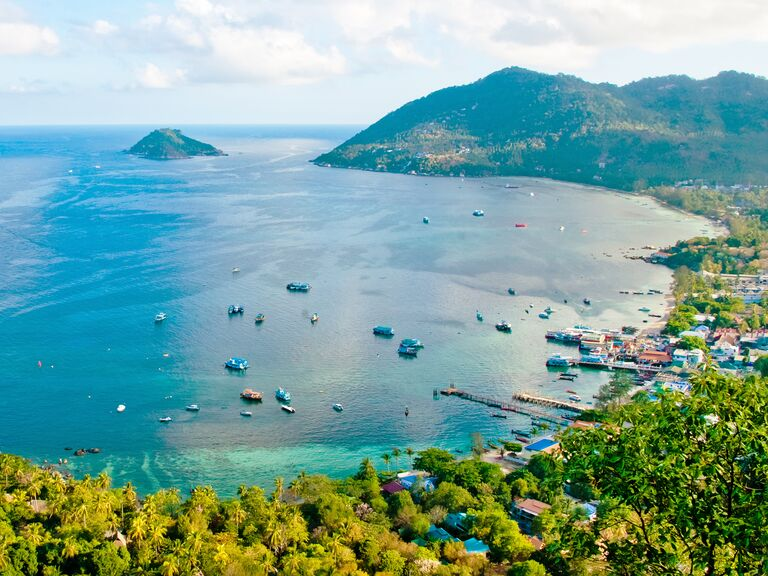 Koh Tao, Thailand honeymoon destination with best beach