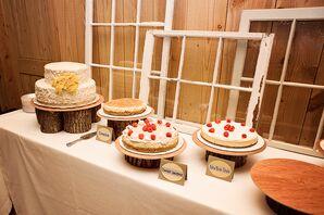 Rustic DIY Dessert Table