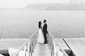 Jenn and Ethan Island Maine Wedding