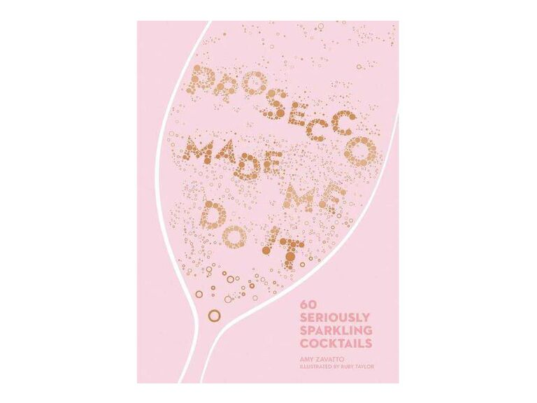Prosecco cocktail book bachelorette party gift