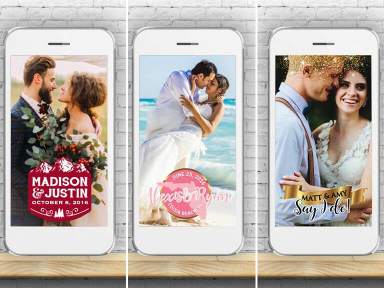 Filtered Vows Snapchat Promo