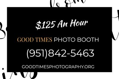 Good Times Photo Booth & Photography