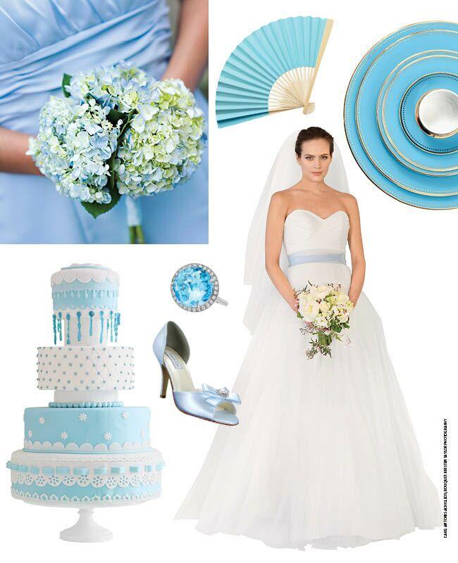 7 Light Blue Wedding Ideas!