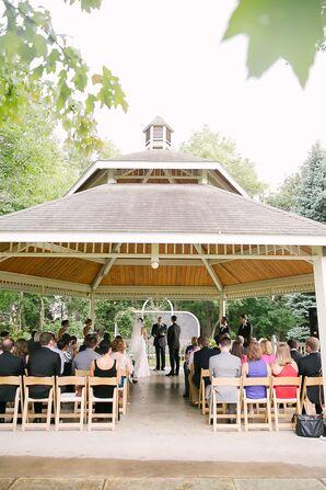 Outdoor Gazebo Wedding Ceremony