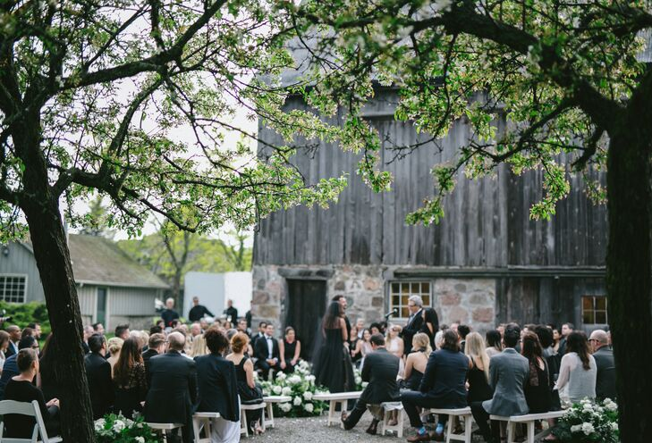 Outdoor Barn Ceremony