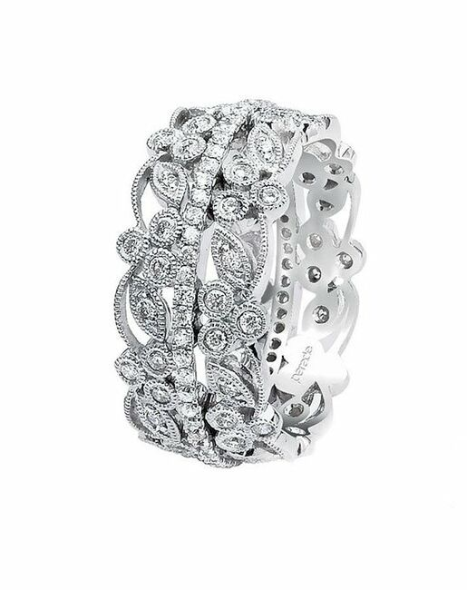 Parade Designs BD1979 from the Lyria Collection Wedding Rings photo