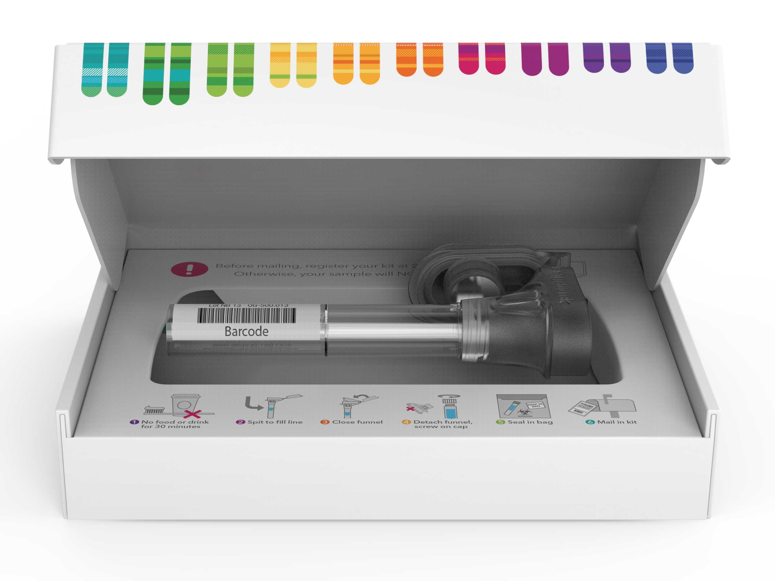 23 and Me mother's day DNA testing kit gift idea