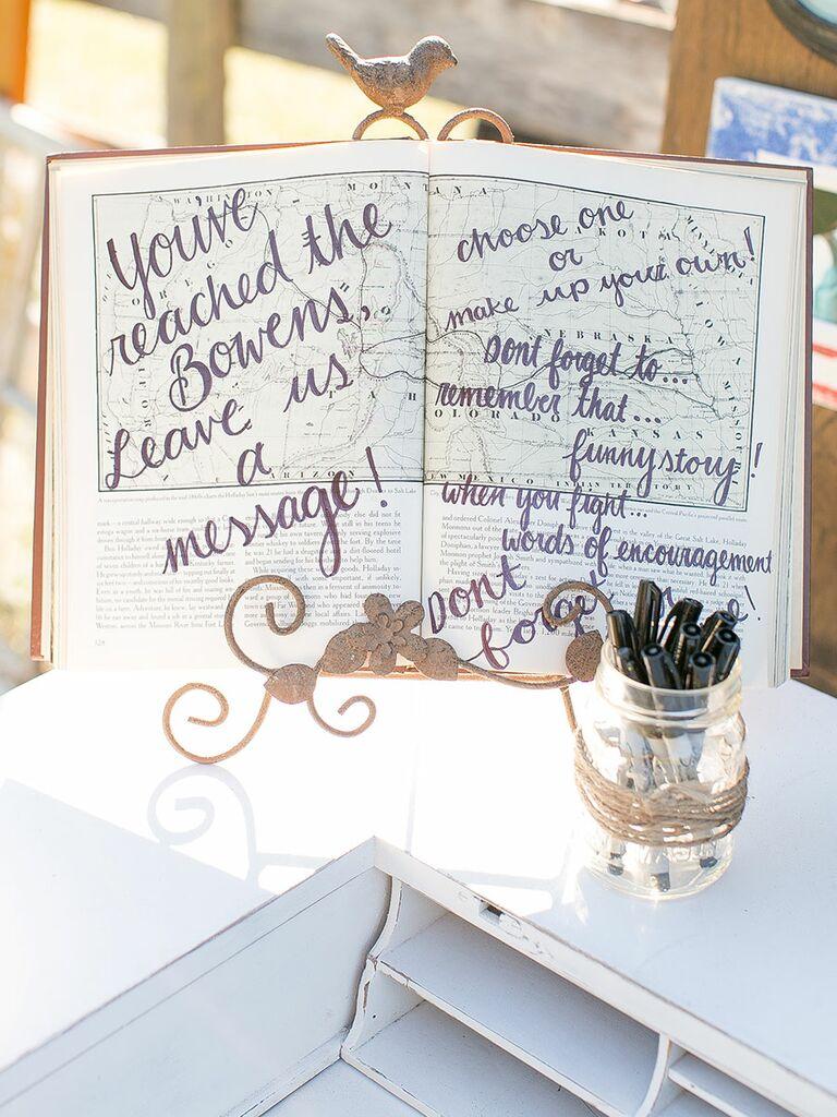 Wedding Guest Book Guest Book Alternatives You Ll Love