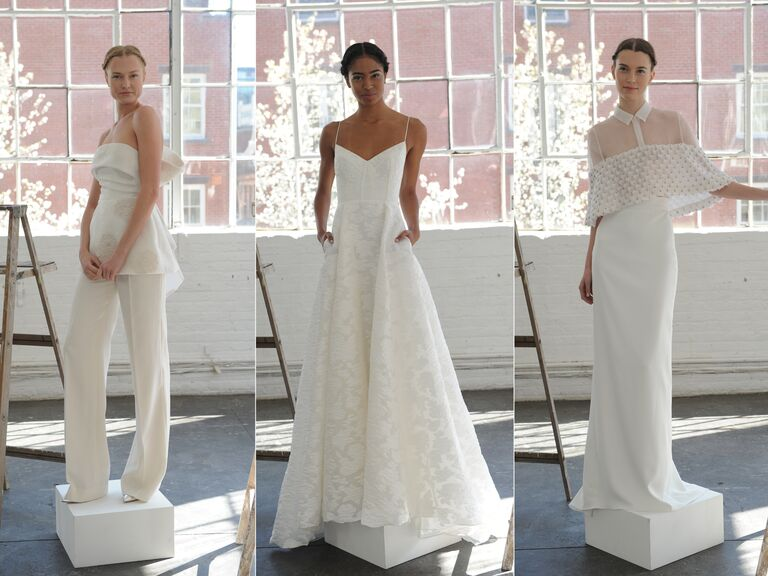 Lela Rose Spring 2017 Wedding Dresses
