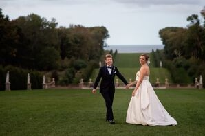 Alvina Valenta Gown and 9tailors Tux
