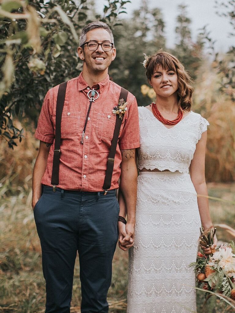 Non Traditional Wedding Dress.Our Favorite Nontraditional Wedding Dresses From Real Brides