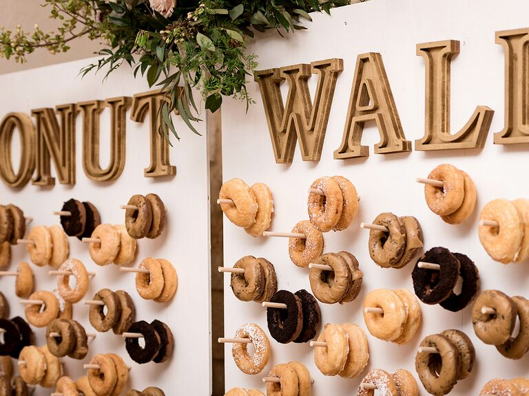 Doughnut Wall Ideas For Your Wedding